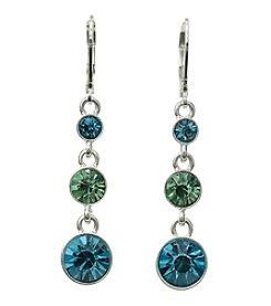 Napier® Linear Drop Earrings