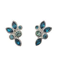 Napier® Cluster Button Earrings
