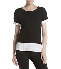 Marc New York Performance Layered Look Top