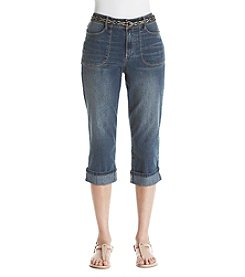 Gloria Vanderbilt® Patty Denim Capri Pants