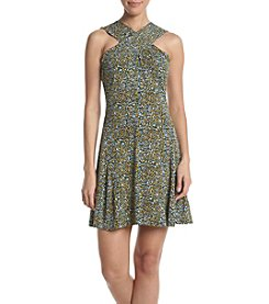 MICHAEL Michael Kors® Cross Neck Dress