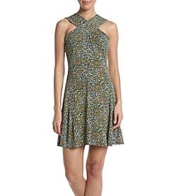MICHAEL Michael Kors® Cross Neck Dress