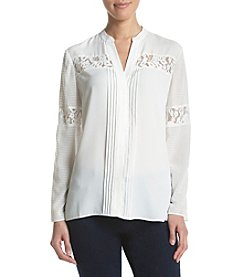 Jones New York® Lace Shirt