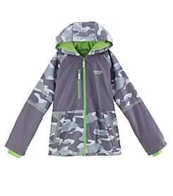 London Fog® Boys' 8-20 Mesh Lined Camo Jacket