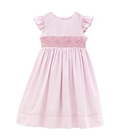 Laura Ashley® Girls' 2T-6X Smocked Striped Dress