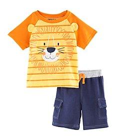 Nannette® Boys' 2T-7 2-Piece Lion Set