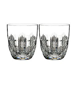 Waterford® Essentially Dungarvan Double Old Fashioned Glasses Set of 2