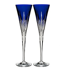 Waterford® Lismore Diamond Toasting Flute Pair