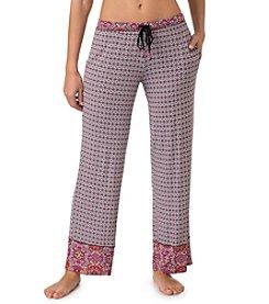 Layla® Knit Geo Print Pants