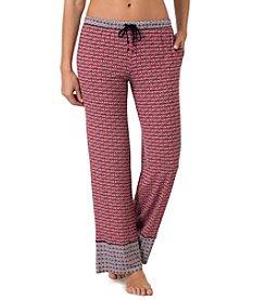 Layla® Knit Elephant Print Pants