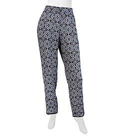 A. Byer Floral Soft Pants