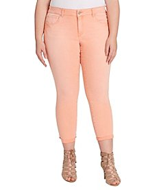Jessica Simpson Plus Size Forever Roll Cuff Skinny Jeans