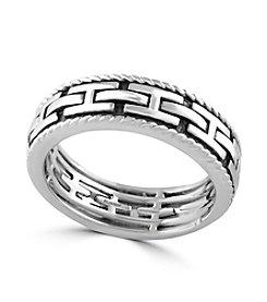 Effy® Men's 925 Sterling Silver Ring