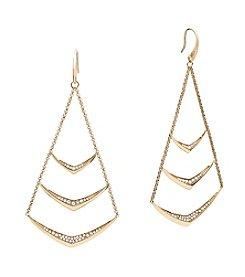 Michael Kors® Pave Chandelier Drop Earrings