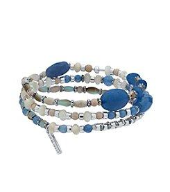 Nine West® Three Row Stretch Bracelet