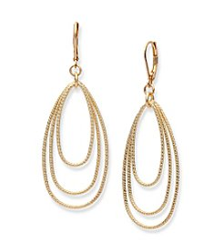 Nine West® Orbital Drop Earrings