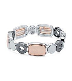 Nine West® Geometric Stretch Bracelet