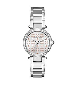 Michael Kors® Mini Parker Stainless Steel Three Hand Watch