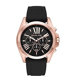 Michael Kors® Men's Bradshaw And Silicone Chronograph Watch