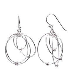 Willow Wire Drop Earrings