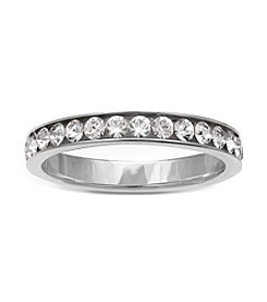 Willow® Sterling Silver Cubic Zirconia Band Ring