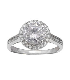 Willow® Round Cubic Zirconia Ring