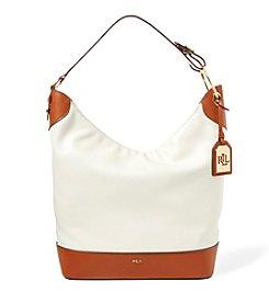 Lauren Ralph Lauren® Carissa Leather Hobo Bag