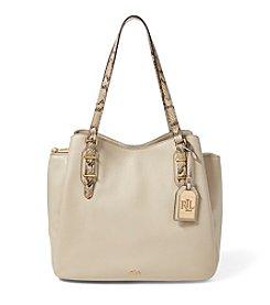 Lauren Ralph Lauren® Fenmore Python-Embossed Hobo Bag