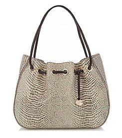 Brahmin™ Creme Amy Drawstring Bag