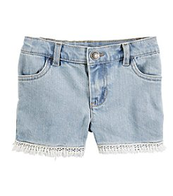 Carter's® Girls' 2T-8 Cutoff Shorts