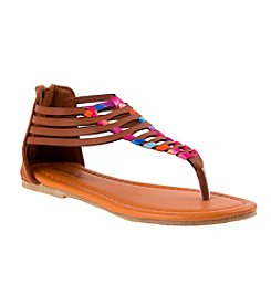 Nanette Lepore Girls' Thong Sandals