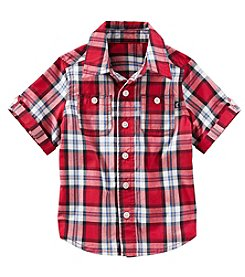 OshKosh B'Gosh® Boys' 2T-7 Plaid Buttondown Shirt