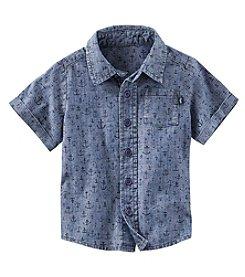 OshKosh B'Gosh® Boys' 2T-7 Chambray Buttondown Shirt