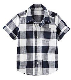 OshKosh B'Gosh® Boys' 2T-7 Gingham Shirt