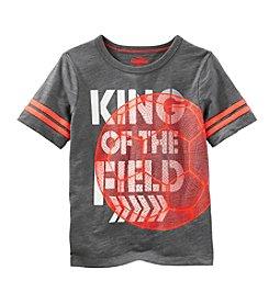 OshKosh B'Gosh® Boys' 2T-7 King of the Field Tee