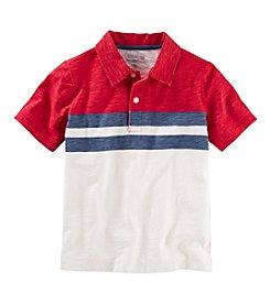 OshKosh B'Gosh® Boys' 2T-7 Striped Polo