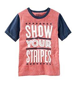 OshKosh B'Gosh® Boys' 2T-7 Show Stripes Tee