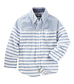 OshKosh B'Gosh® Boys' 2T-7 Striped Button Down Shirt
