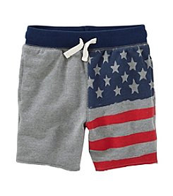 OshKosh B'Gosh® Boys' 2T-7 Flag Shorts