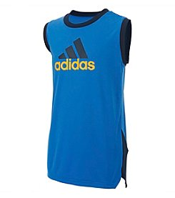 adidas® Boys' 8-20 Full Court Climate Top