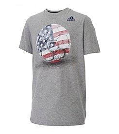 adidas® Boys' 8-20 USA Tee