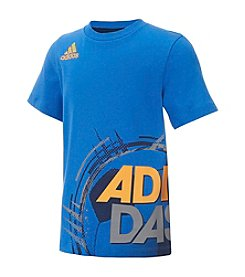 adidas® Boys' 2T-7 Dynamic Wrap Tee