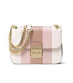 MICHAEL Michael Kors® Multi Stripe Sloan Edition Medium Chain Shoulder Bag