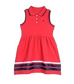 Nautica® Girls' 2T-6X Pique Dress