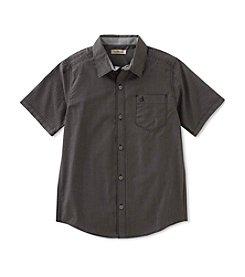 Calvin Klein Boys' 8-20 Lifestyle Gingham Shirt