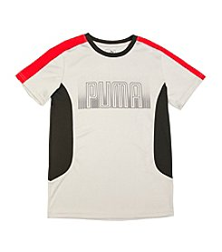 PUMA® Boys' 8-20 Colorblock Tee