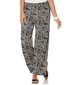 Rafaella® Printed Knit Pants