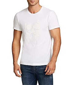 William Rast® Men's Short Sleeve Skull Of Drip Graphic Tee