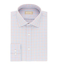 MICHAEL Michael Kors® Men's Regular Fit Glen Plaid Dress Shirt