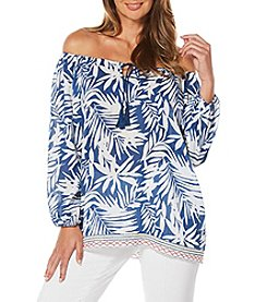 Rafaella® Tropical Print Blouse